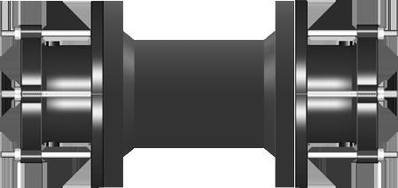 T TOOYFUL Set di Protezioni per Giunti in Plastica Durevoli E Resistenti Dimensioni 3//8 X 10 Nere